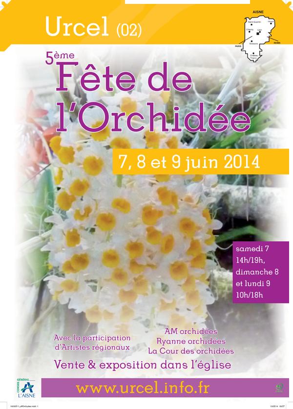 AFFICHE-FETE-DE-L'ORCHIDEE-