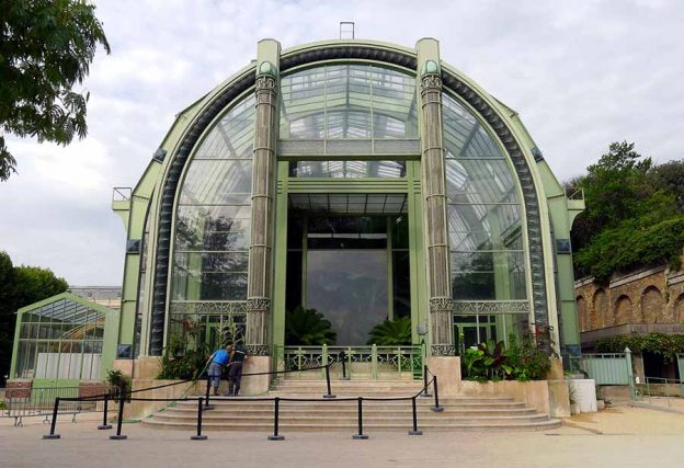 Paris serres du jardin des Plantes